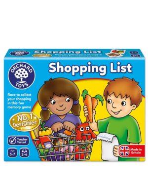 אריזת רשימת קניות - Shopping List