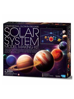 אריזת מודל מערכת השמש - מובייל תלת מימדי