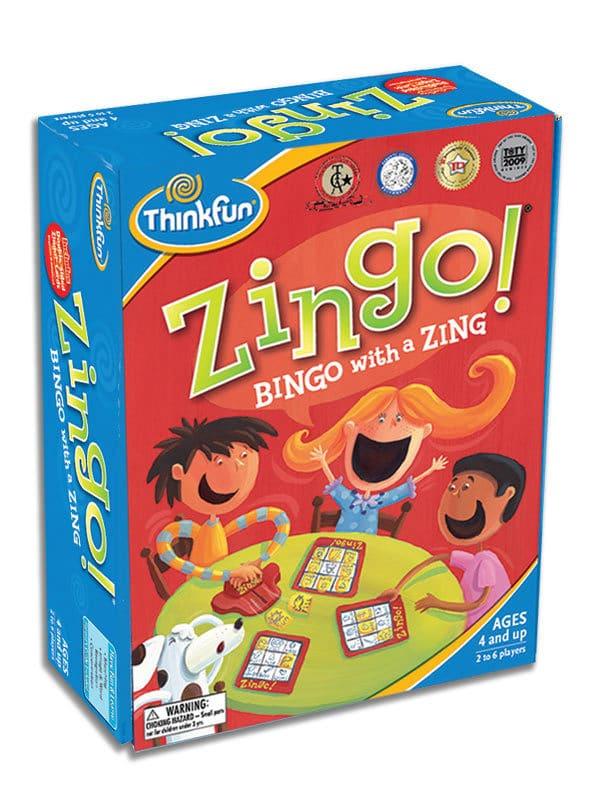 משחק הקופסה ZINGO