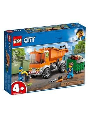 אריזת משאית זבל - לגו 60220