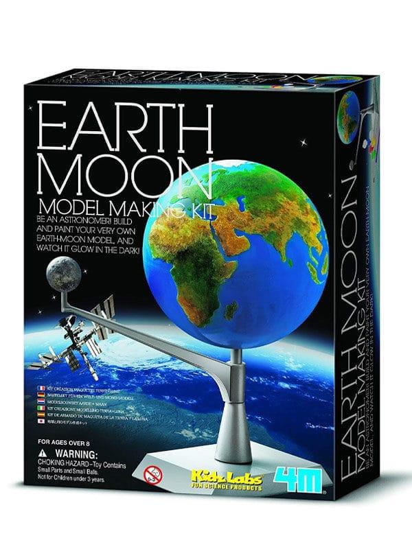אריזת מודל כדור הארץ והירח