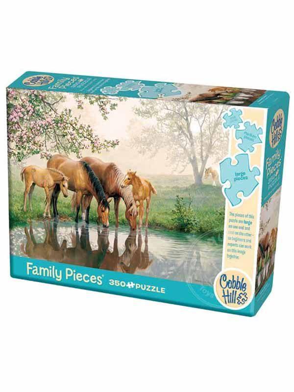 סוסים באגם 3 פאזלים - קובל היל