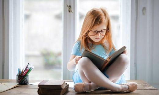 10 שיטות לחבר ילדים לספרים