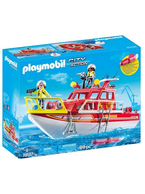 פליימוביל 70147 סירת חילוץ וכיבוי אש
