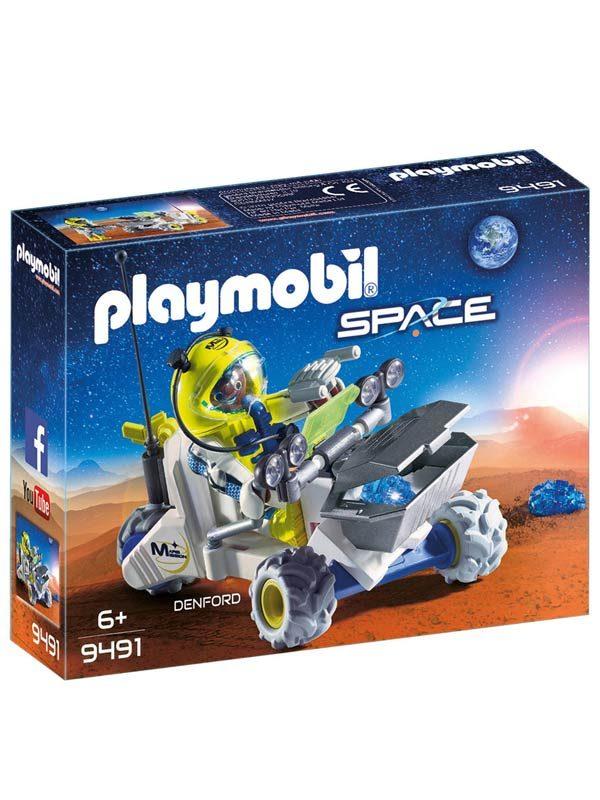 פליימוביל 9491 אסטרונאוט וטרקטורון במאדים