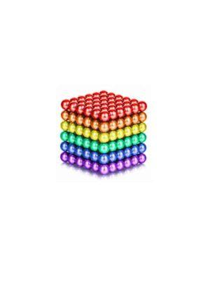 כדורים מגנטיים 216 - צבעוני