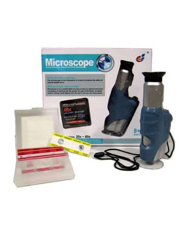 מיקרוסקופ ידני לילדים