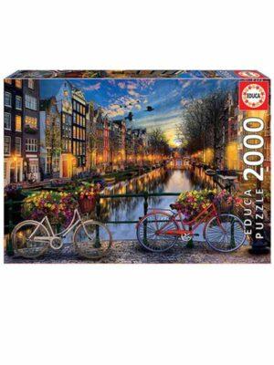 פאזל אמסטרדם 2000 חלקים