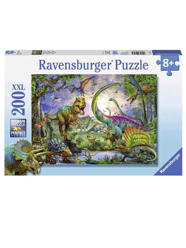 פאזל עולם הדינוזאורים (200 חלקים)