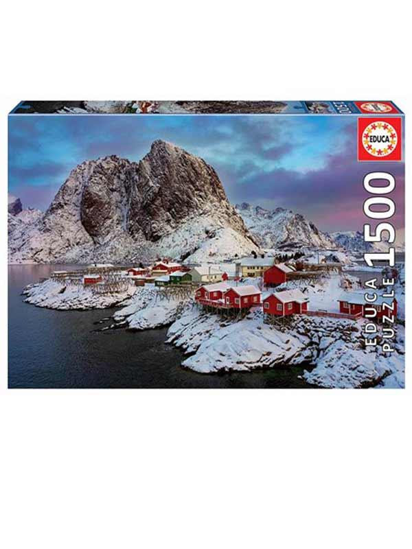 פאזל האי לופוטן, נורווגיה