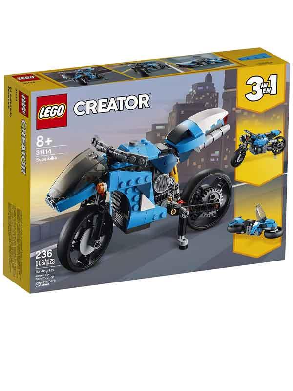 לגו 31114 - סופר אופנוע