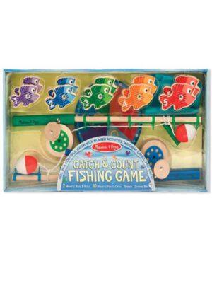 משחק דיג ללימוד מספרים