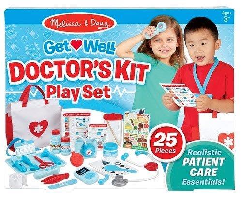 ערכת משחק רופא חולה